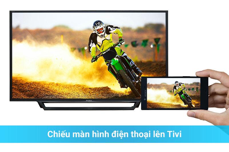 Smart Tivi Sony 48 inch KDL-48W650D - Chiếu màn hình
