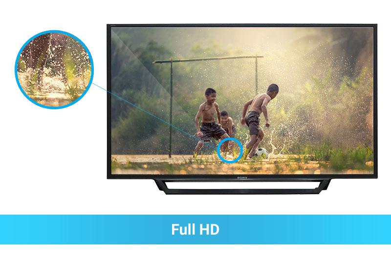 Tivi Full HD hình ảnh sắc nét, chân thực
