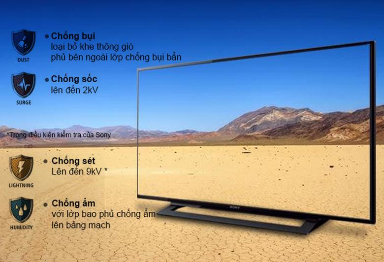 Smart Tivi Sony 48 inch KDL-48W650D - Bộ tứ bảo vệ