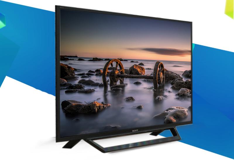 Internet Tivi Sony 48 inch KDL-48W650D - Kiểu dáng tivi hiện đại, đẹp mắt