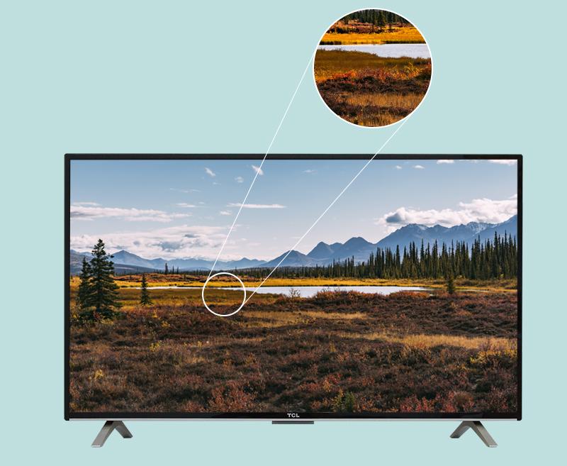 Internet Tivi TCL 48 inch L48D2790 - Màn hình Full HD