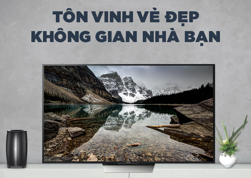 Android Tivi Sony 55 inch KD-55X8500D