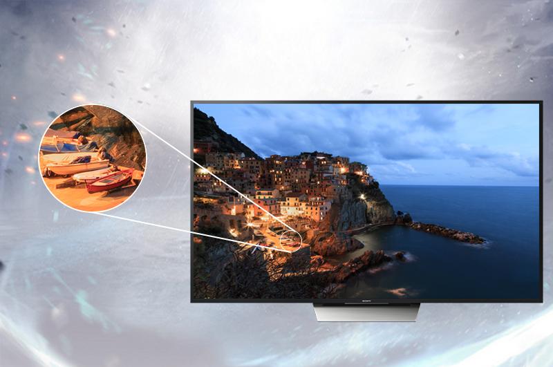Android Tivi Sony 55 inch KD-55X8500D - Công nghệ TRILUMINOS™ Display