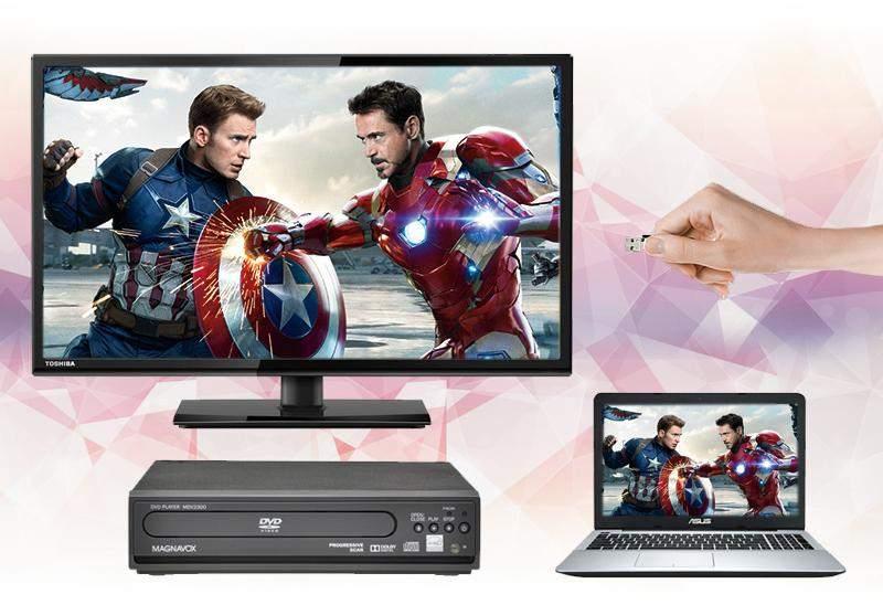 Tivi Toshiba 24 inch 24S2550 - Kết nối đa dạng