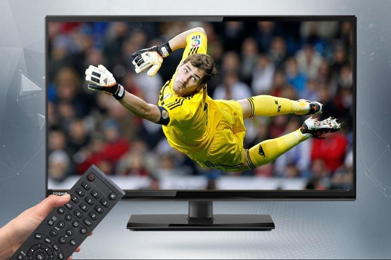 Tivi Toshiba 24 inch 24S2550 - Tích hợp DVB-T2