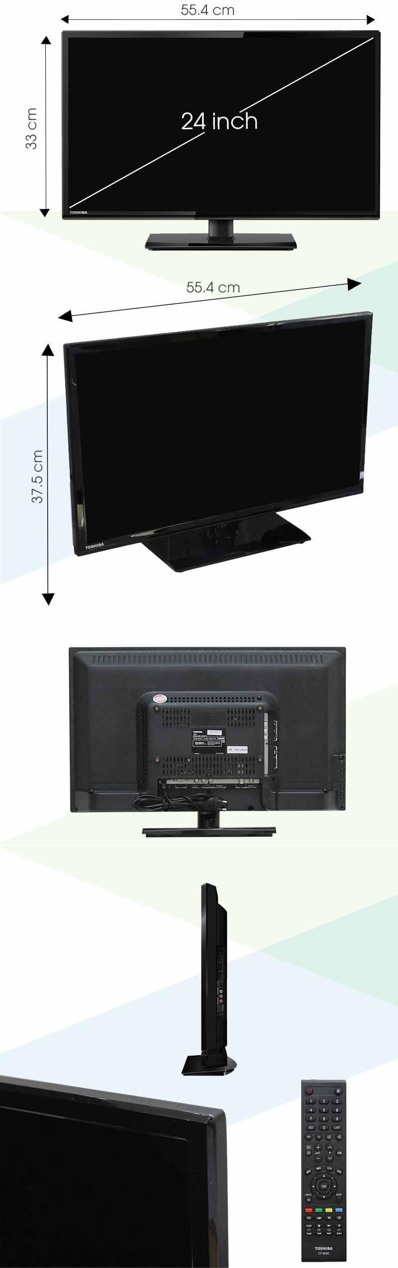 Tivi Toshiba 24 inch 24S2550