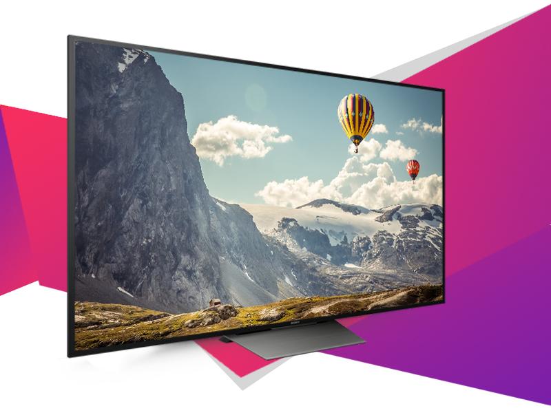 Android Tivi Sony 65 inch KD-65X8500D - Thiết kế ấn tượng