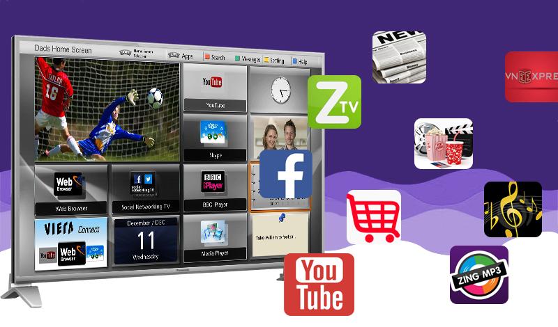 Internet tivi Panasonic 43 inch TH-43DS630V - Tính năng giải trí