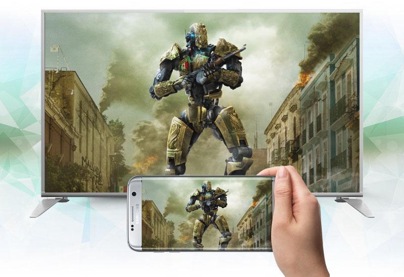 Smart Tivi Panasonic 49 inch TH-49DS630V - Chiếu màn hình điện thoại lên tivi