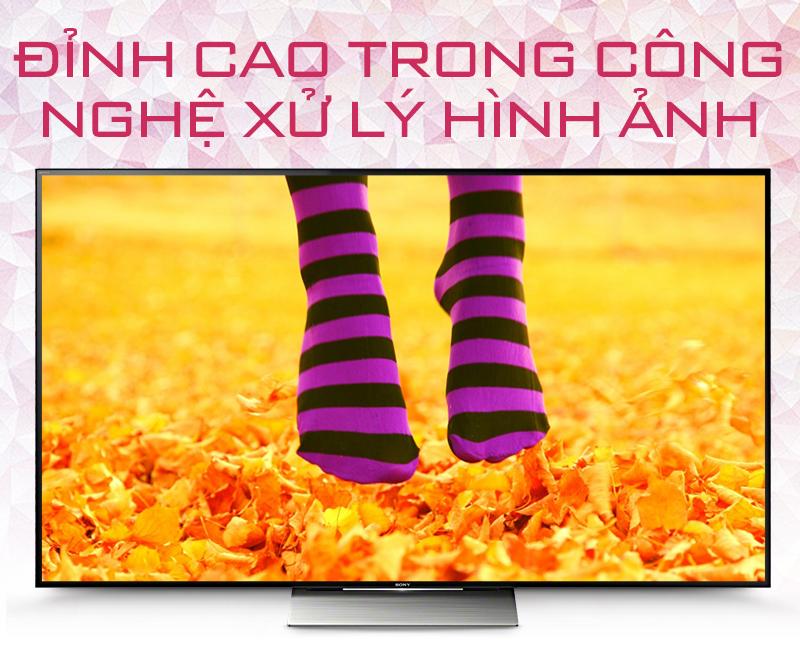 Smart Tivi Sony 55 inch KD-55X9300D - Đỉnh cao trong công nghệ xử lý hình ảnh
