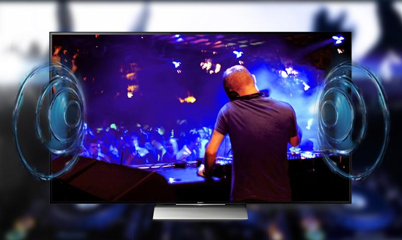 Smart Tivi Sony 55 inch KD-55X9300D - Âm thanh bùng nổ
