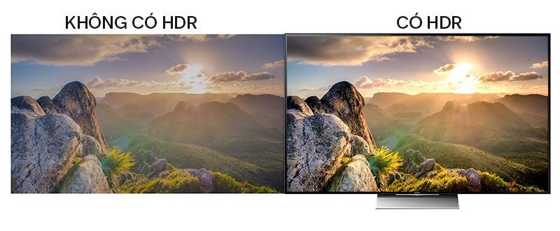 Smart Tivi Sony 65 inch KD-65X9300D - Tivi HDR