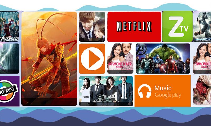 Smart Tivi Sony 65 inch KD-65X9300D - Ứng dụng trên tivi