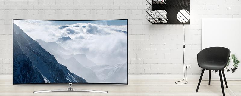 Smart tivi Samsung 55 inch UA55KS9000 - Làm đẹp cho ngôi nhà của bạn