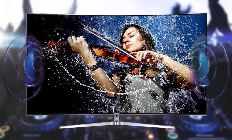 Smart tivi Samsung 78 inch UA78KS9000 - Âm thanh lan toả khắp căn phòng