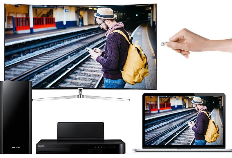 Smart tivi Samsung 78 inch UA78KS9000 - Các tính năng kết nối