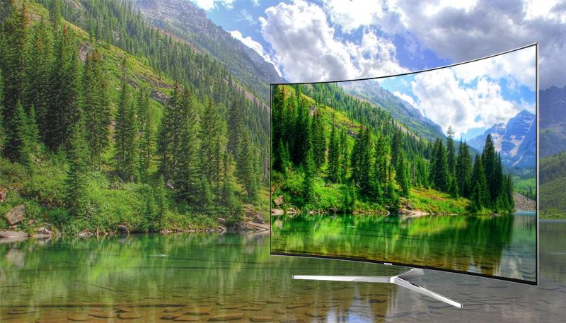 Smart tivi Samsung 65 inch UA65KS9000 - Màn hình chấm lượng tử