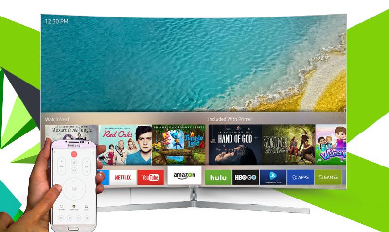 Smart tivi Samsung 65 inch UA65KS9000 - Điều khiển tivi bằng điện thoại