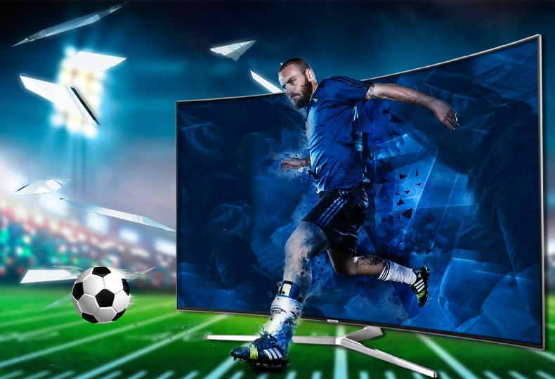 Smart tivi Samsung 65 inch UA65KS9000 - Hình ảnh luôn mượt mà