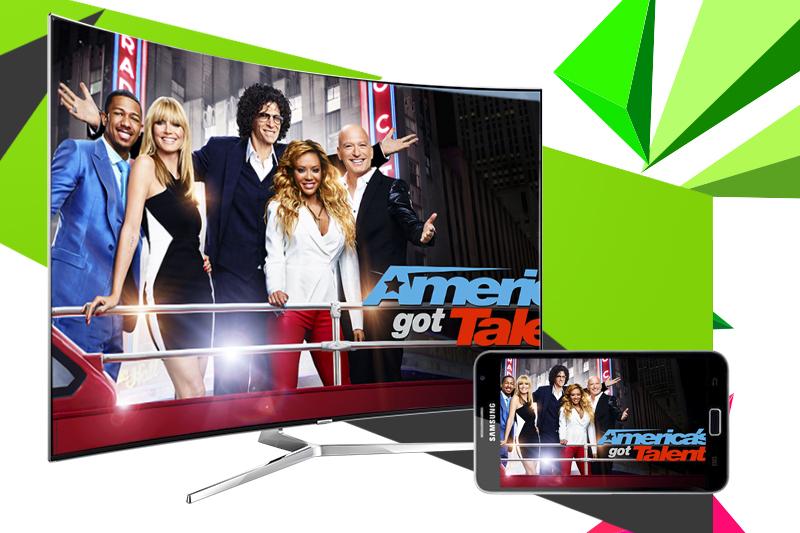 Smart tivi Samsung 65 inch UA65KS9000 - Chiếu màn hình điện thoại lên tivi
