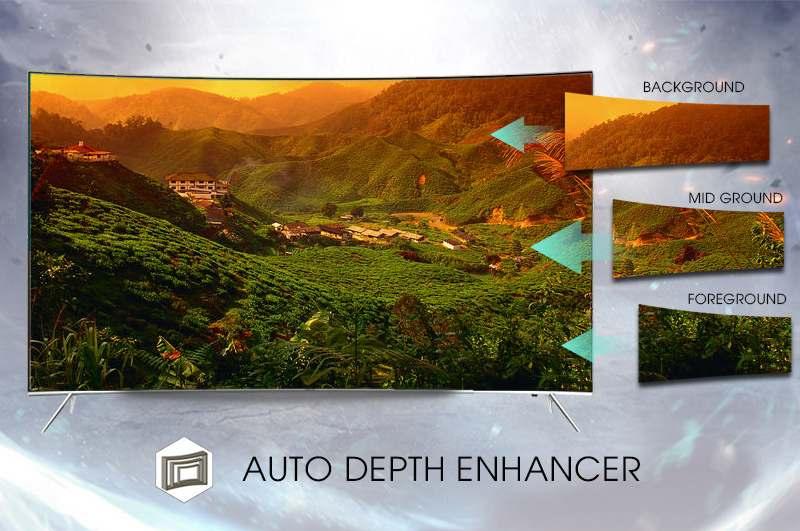 Smart tivi cong Samsung 55 inch UA55KS7500 - Hình ảnh sống động, chân thực