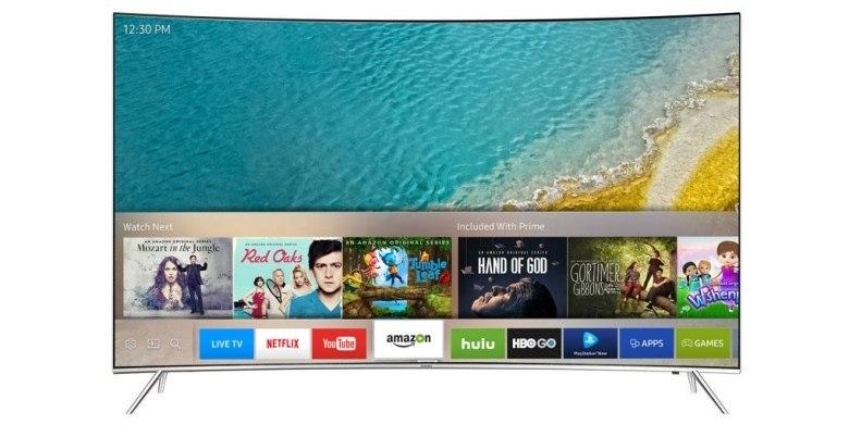 TIVI MÀN HÌNH CONG SAMSUNG UA55KS7500 KXXV (SMART TV - 4K) sở hữu màn hình cong siêu mỏng cực ấn tượng, giúp không gian hiện đại của phòng khách nhà bạn thêm phần đẳng cấp