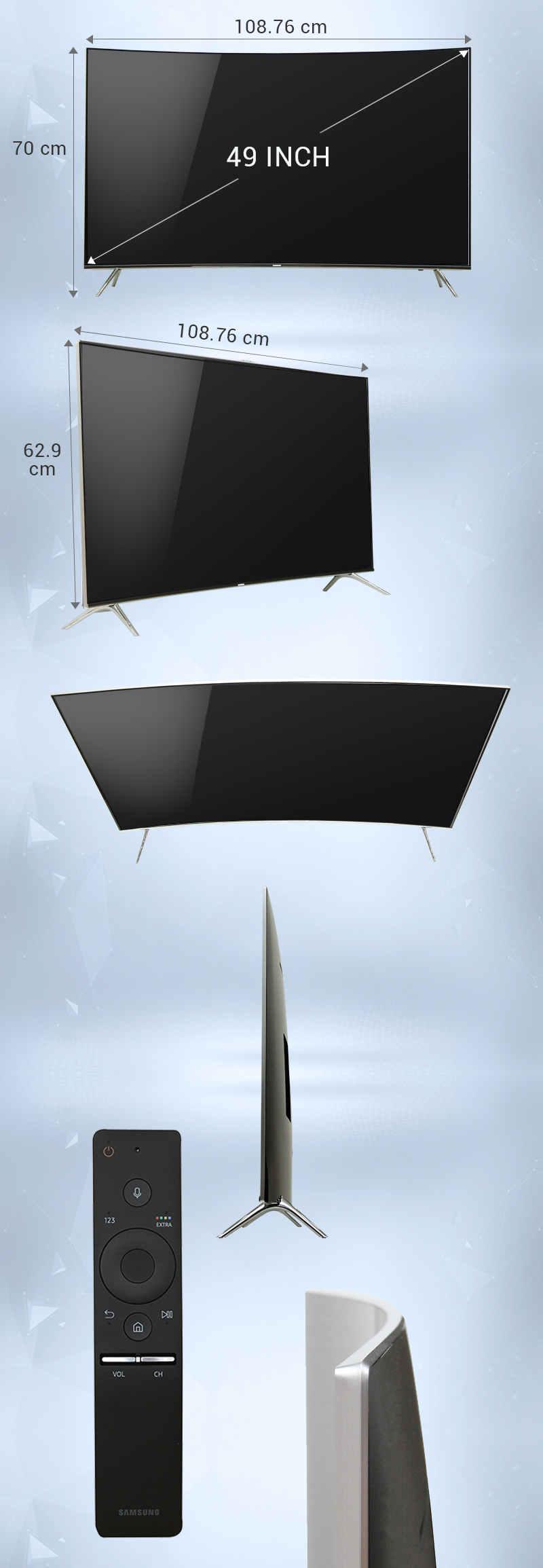 Smart tivi Samsung 49 inch UA49KS7500