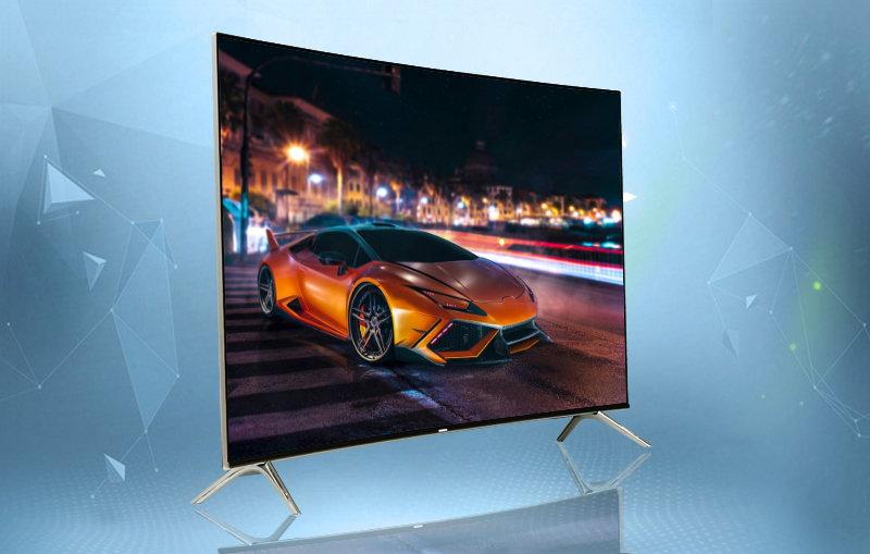 Smart tivi Samsung 49 inch UA49KS7500-Thiết kế đẹp