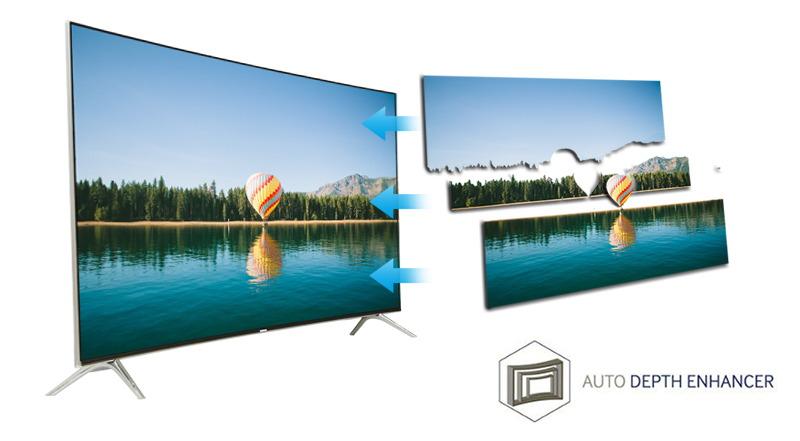 Smart tivi Samsung 49 inch UA49KS7500-Công nghệ hình ảnh