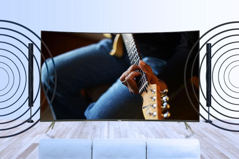 Smart tivi Samsung 49 inch UA49KS7500-Âm thanh mạnh mẽ