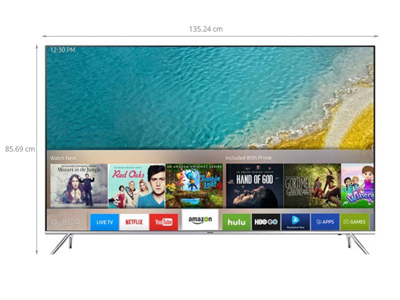 Thông số kỹ thuật Smart tivi Samsung 60 inch UA60KS7000