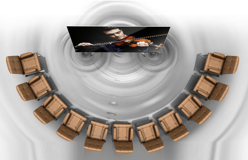 Smart tivi Samsung 60 inch UA60KS7000 - Âm thanh vòm lan toả