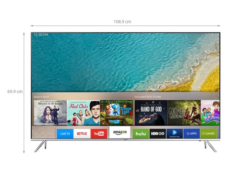 Thông số kỹ thuật Smart tivi Samsung 49 inch UA49KS7000