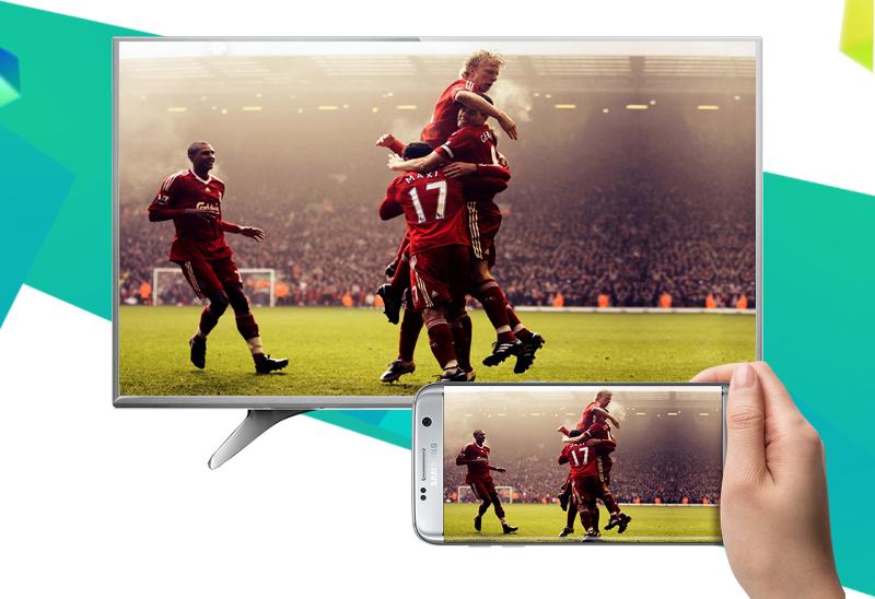 Smart tivi Panasonic 40 inch TH-40DX650V - Chiếu màn hình điện thoại lên tivi