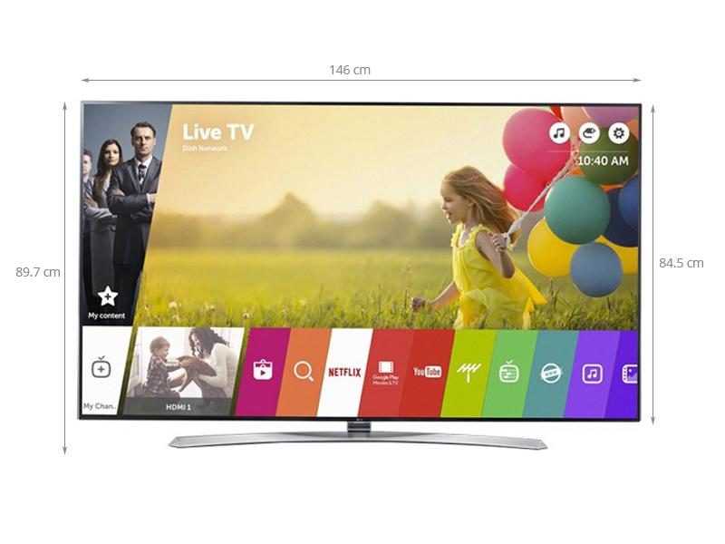 Thông số kỹ thuật Smart Tivi LG 65 inch 65UH850T