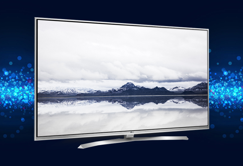 Smart Tivi LG 55 inch 55UH850T - Thiết kế sắc sảo