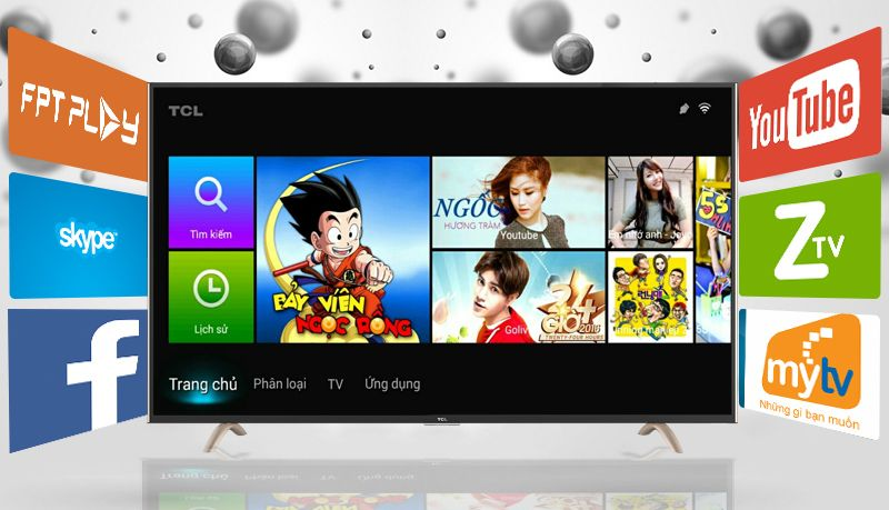 Smart Tivi TCL 43 inch L43P1-SF-Android