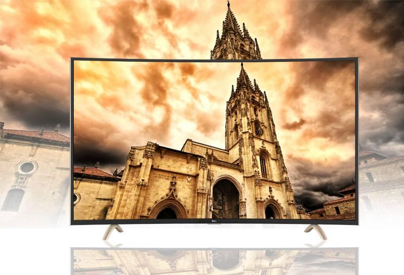 Smart Tivi Cong TCL 48 inch L48P1-CF-Công nghệ ánh sáng tự nhiên