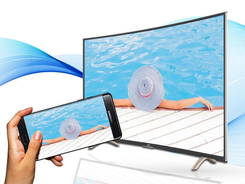 Smart Tivi Cong TCL 48 inch L48P1-CF-Chiếu màn hình điện thoại
