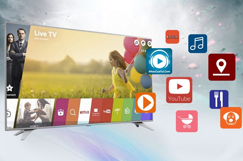Smart Tivi LG 43 inch 43UH650T-Webos