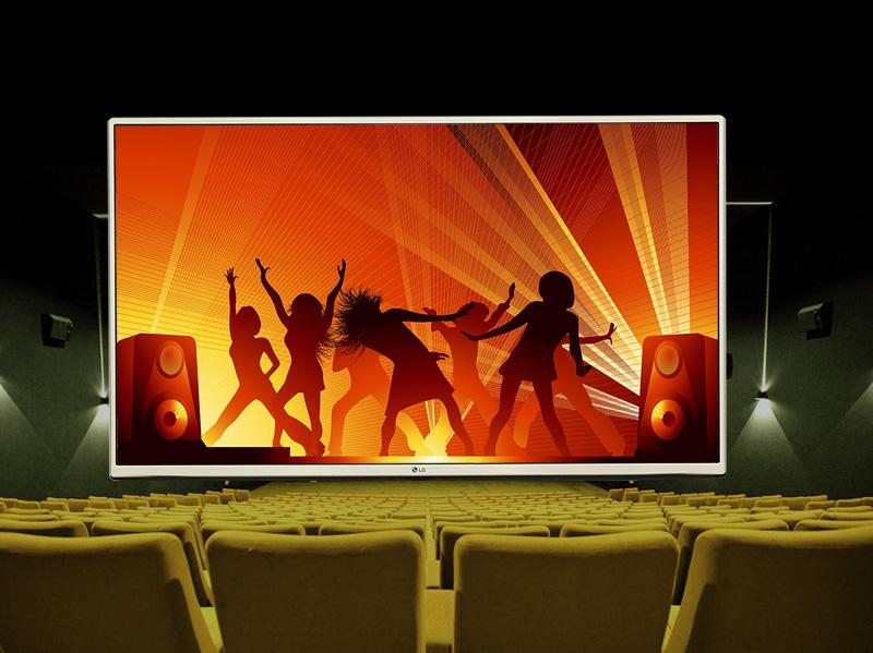Tivi LG 43 inch 43LH540T - Âm thanh ấn tượng