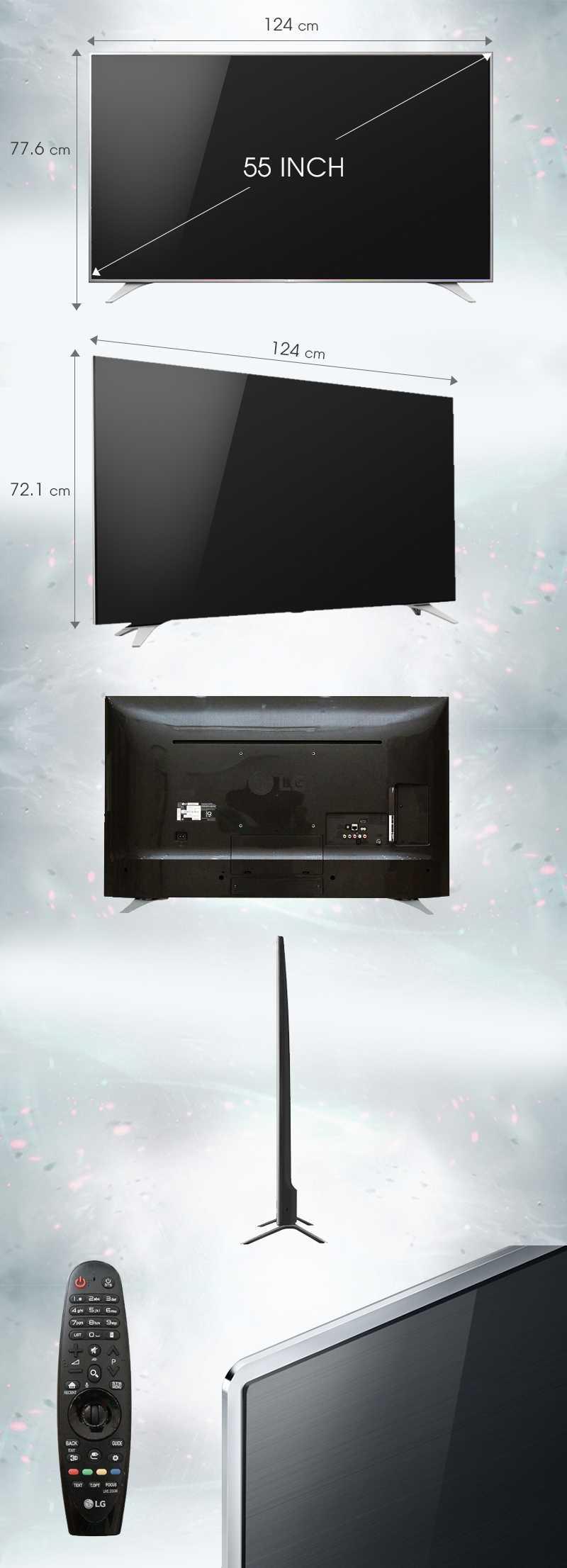 Smart Tivi LG 55 inch 55UH650T-Tivi