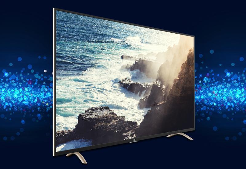 Smart Tivi TCL 32 inch L32P1-SF-Kiểu dáng gọn gàng