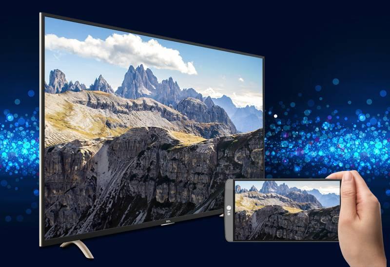 Smart Tivi TCL 32 inch L32P1-SF-Screen Mirroring