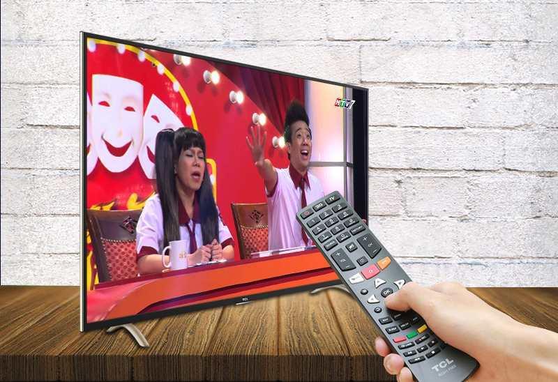 Smart Tivi TCL 55 inch L55P1-SF-DVB-T2