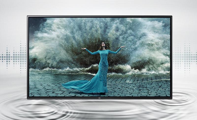 Smart Tivi LG 49 inch 49LH600T - Âm thanh vòm sống động