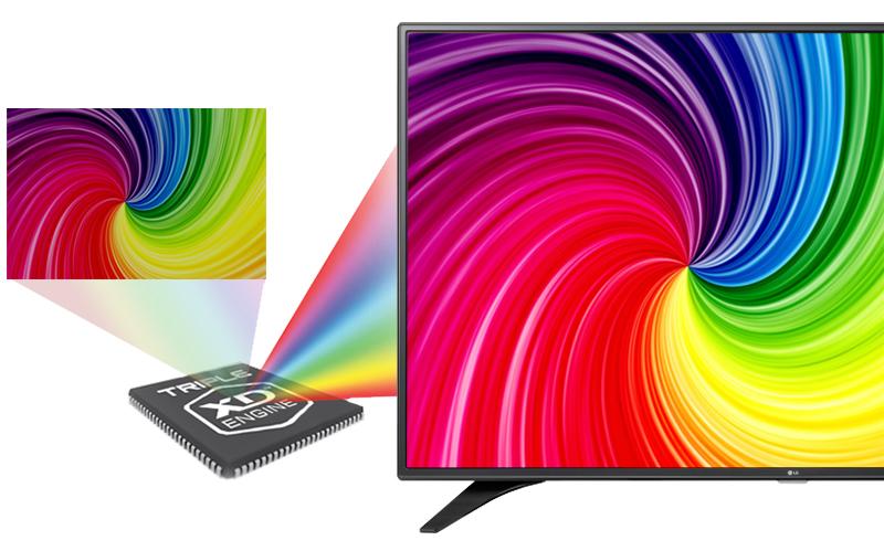 Smart Tivi LG 49 inch 49LH600T - Hình ảnh sinh động