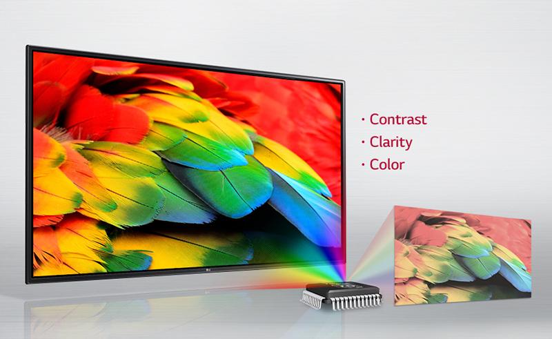 Tivi LG 43 inch 43LH540T - Công nghệ hình ảnh LG Triple XD Engine