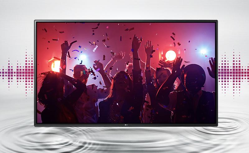Tivi LG 43 inch 43LH540T - Âm thanh trung thực