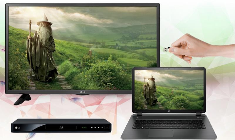 Tivi LG 49 inch 49LH511T - Kết nối